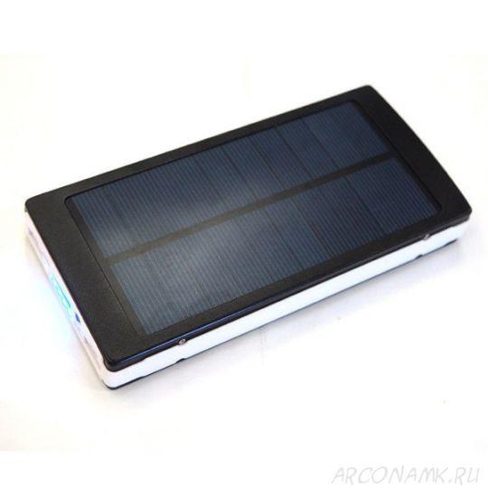 Power Bank с солнечной батареей, 35 000 mAh