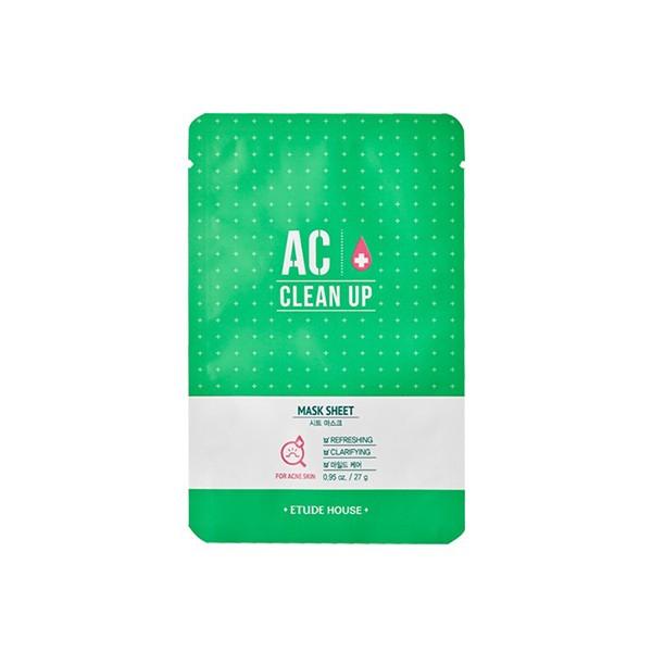 Маска тканевая для проблемной кожи Etude House AC Clean Up Mask Sheet 27гр