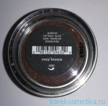 Тени bareMinerals цвет COZY BROWN