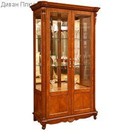 Шкаф с витриной Алези 2 П350.19