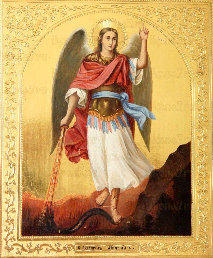 Икона Михаил Архангел (копия 19 века)