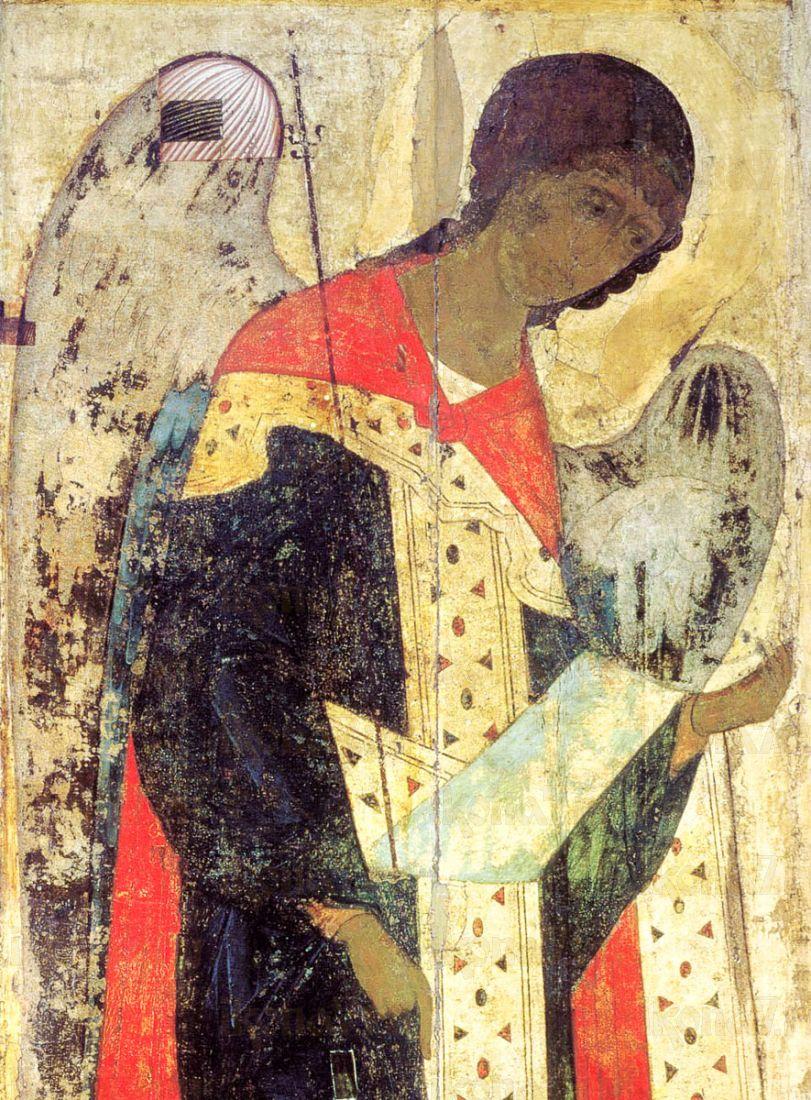 Икона Михаил Архангел (копия 15 века)