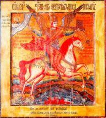 Икона Михаил Архангел (копия 18 века)