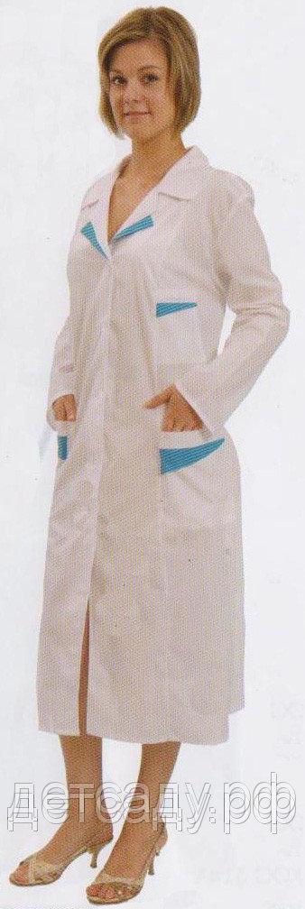 Халат медицинский женский ТИСИ модельный