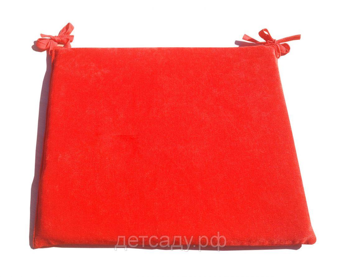 Подушка на стул велюровая 35*40см