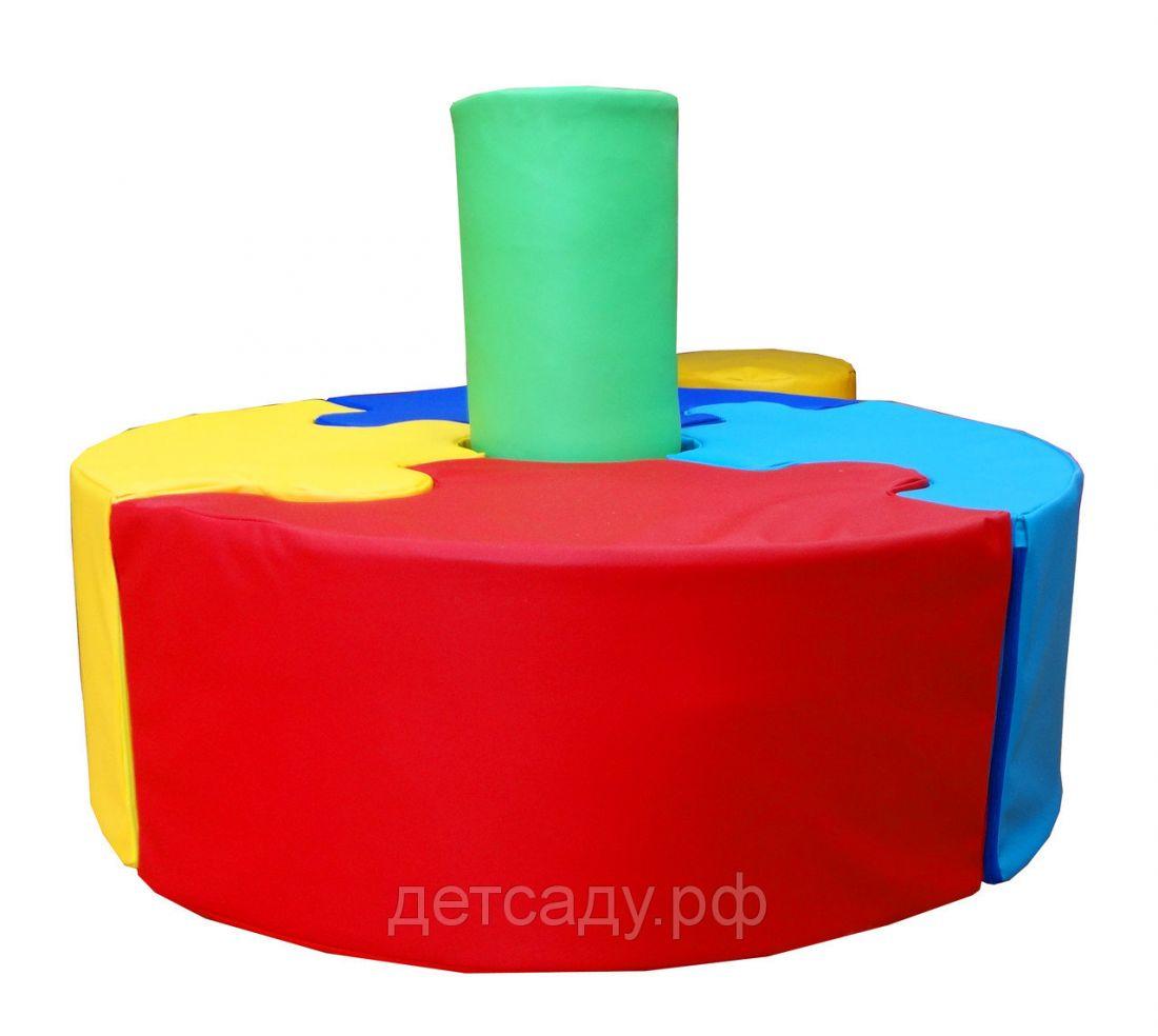 """Детский островной диванчик """"Пазл"""", d=60 см, h=60см"""