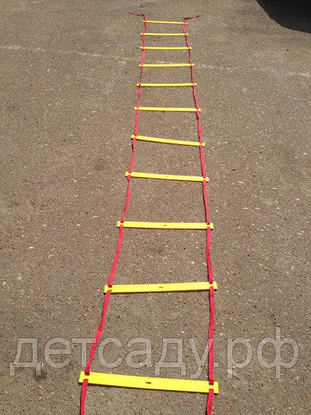 Лестница координационная (12ступеней, 51х540см)