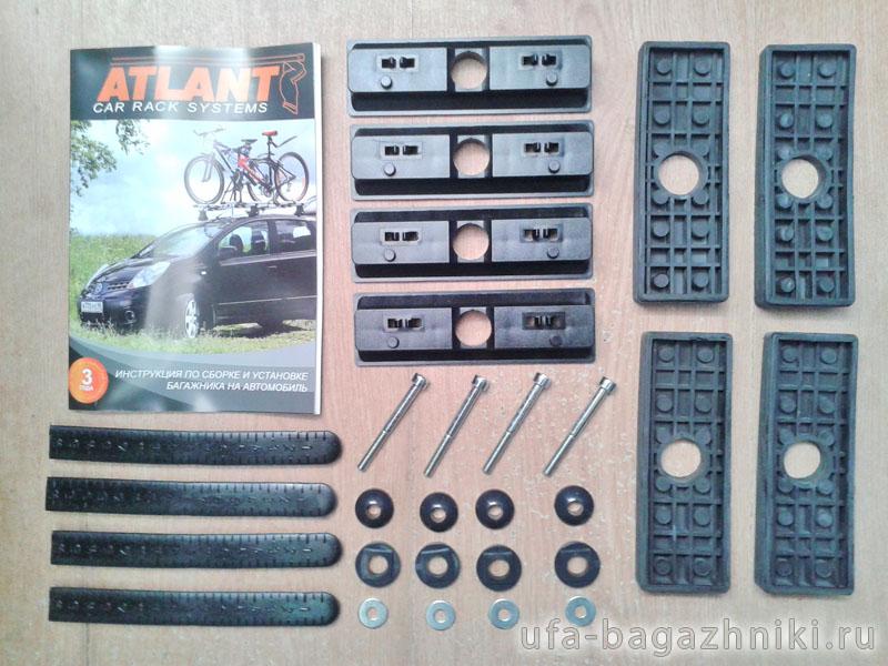 Адаптеры для багажника Mazda 6 2007-2013 hatchback, Атлант, артикул 8742