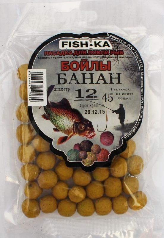 Бойлы FISH.KA (банан) диаметр 16 мм