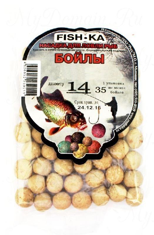 Бойлы FISH.KA (какао) диаметр 16 мм