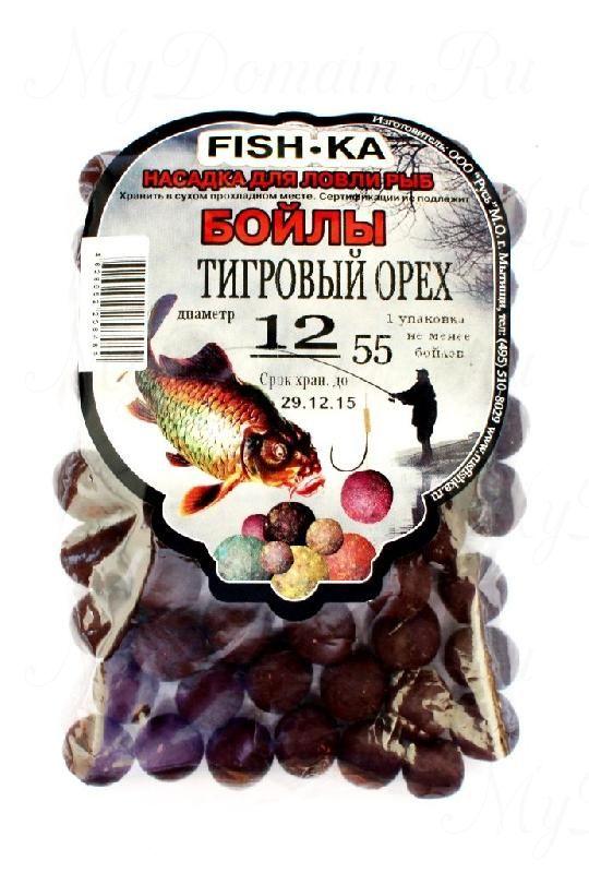 Бойлы FISH.KA (тигровый орех) диаметр 14 мм