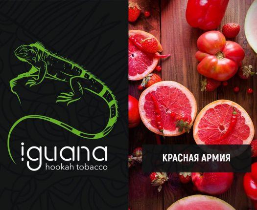 Табак для кальяна Iguana Красная армия