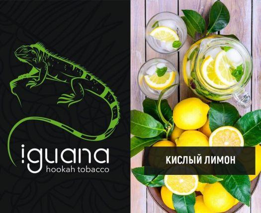 Табак для кальяна Iguana Кислый лимон