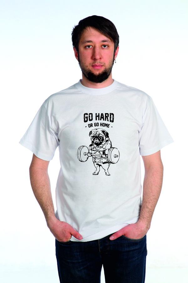 "Футболка мужская ""Go Hard"""