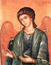 Икона Гавриил Архангел (копия старинной)