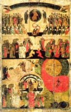 Икона Страшный суд (копия 14 века)