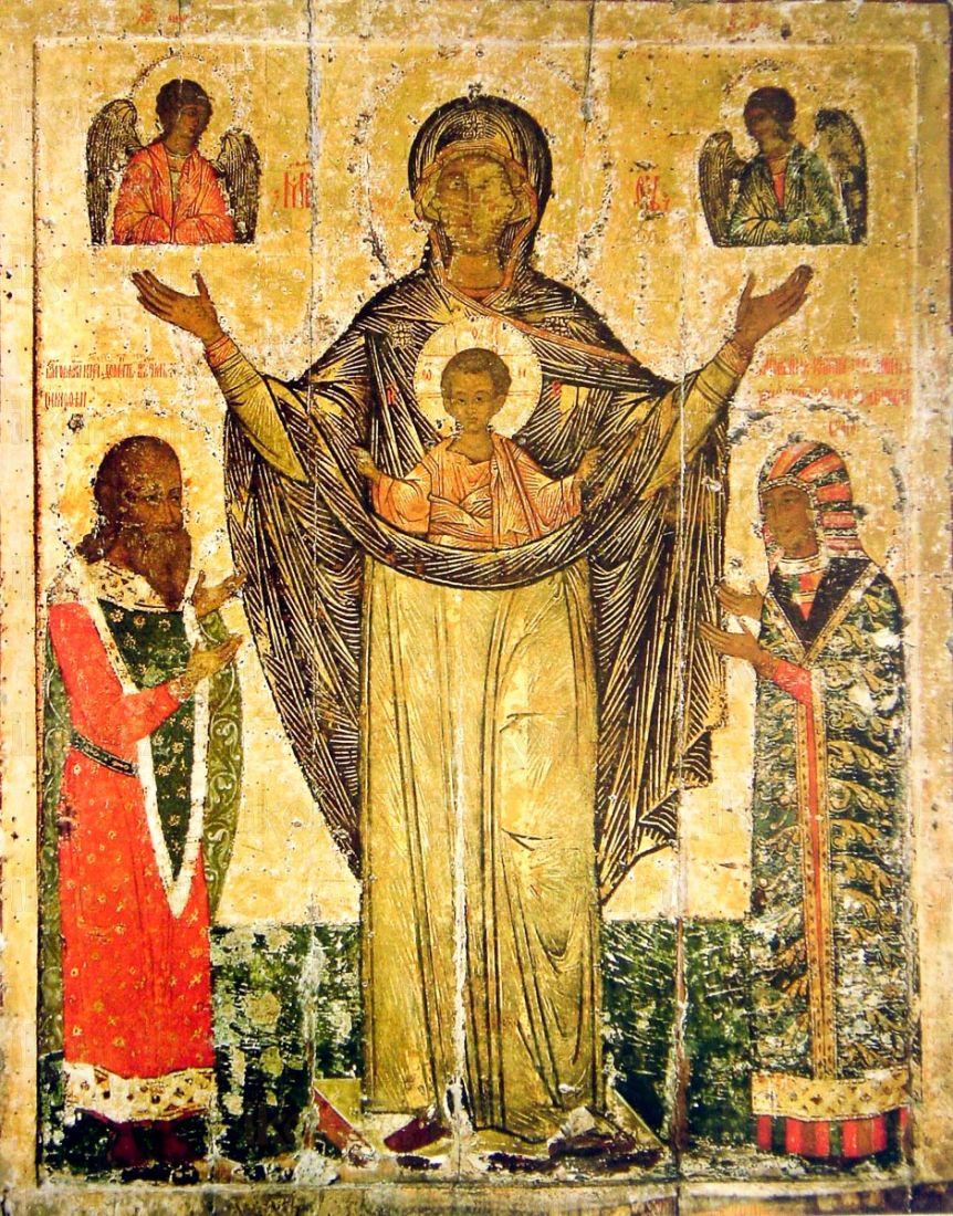 Мирожская икона БМ (копия старинной)