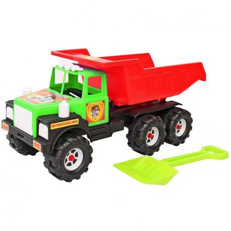 08-804 Машина МАН (лопата) зелено-красный