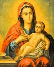 Козельщанская икона Божией Матери (копия старинной)
