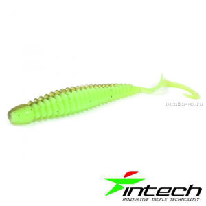 "Мягкая приманка Intech Turborib 2"" / упаковка 12шт / цвет: IN72/  5 см"