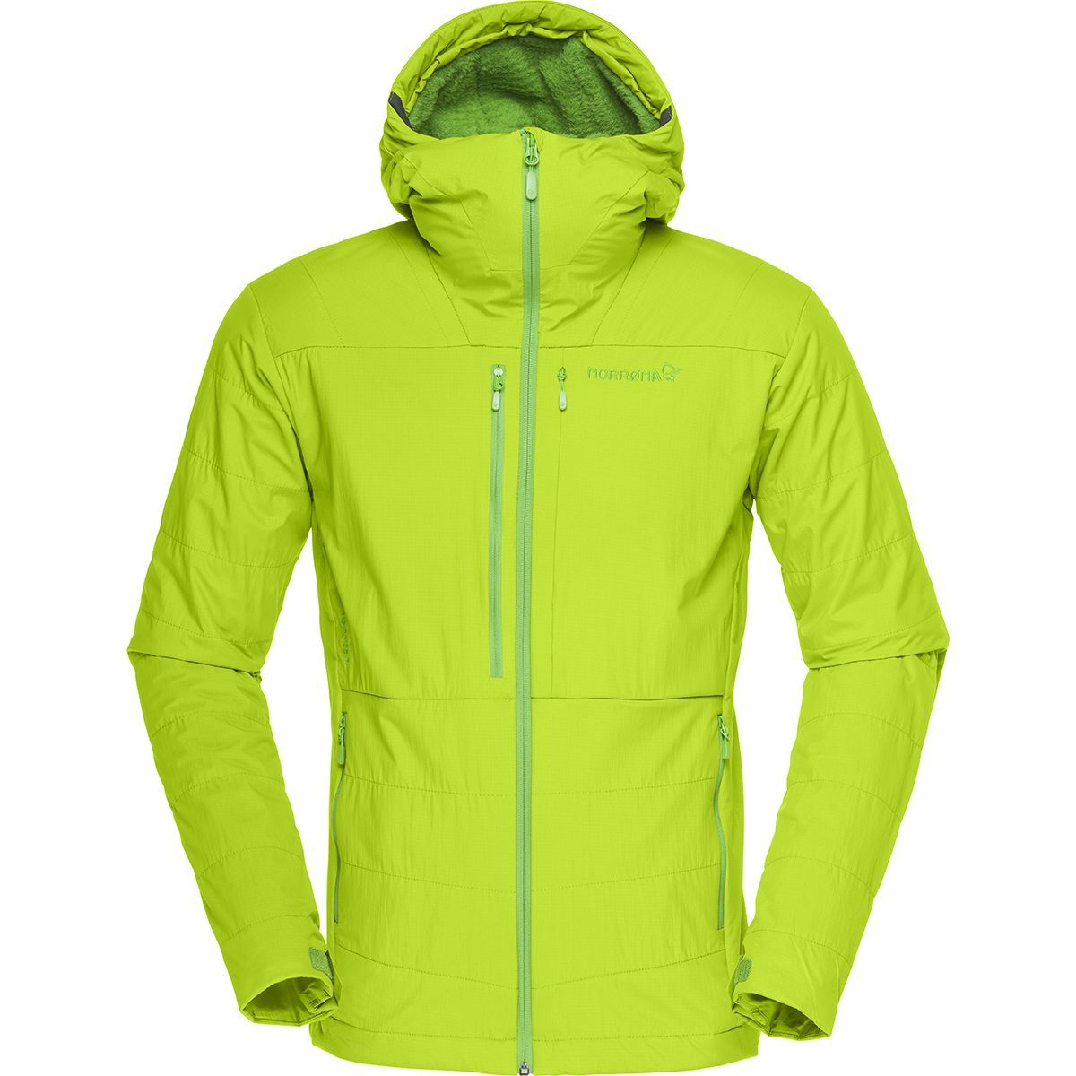 Norrona Lofoten Powershield Pro Alpha Jacket - Men's Birch green