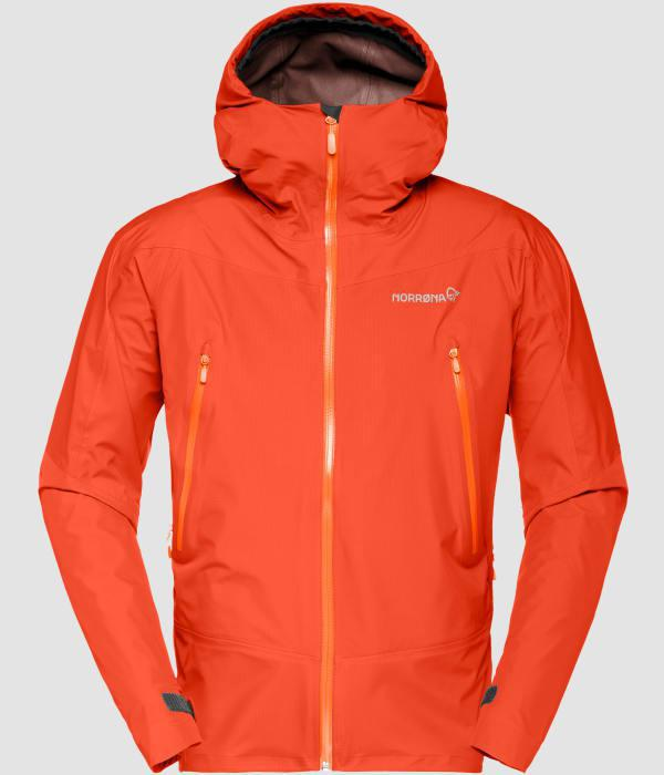 NORRONA Falketind Gore-Tex Jacket (M) HOT CHILI RED