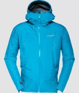 NORRONA Falketind Gore-Tex Jacket (M) CARIBBEAN BLUE