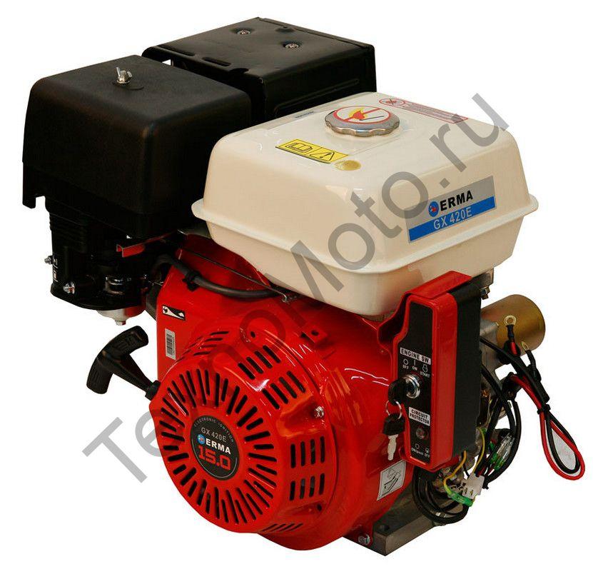 Двигатель Erma Power GX420E D25(15 л. с.) электростартер