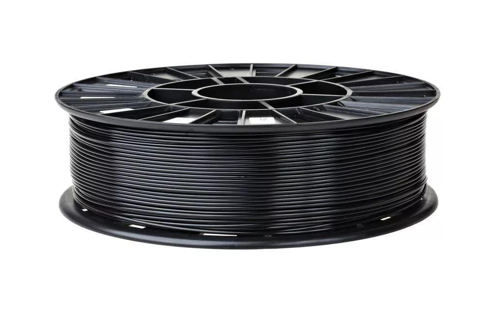 Rec abs пластик для 3d принтера ø1.75 черный 0,75кг