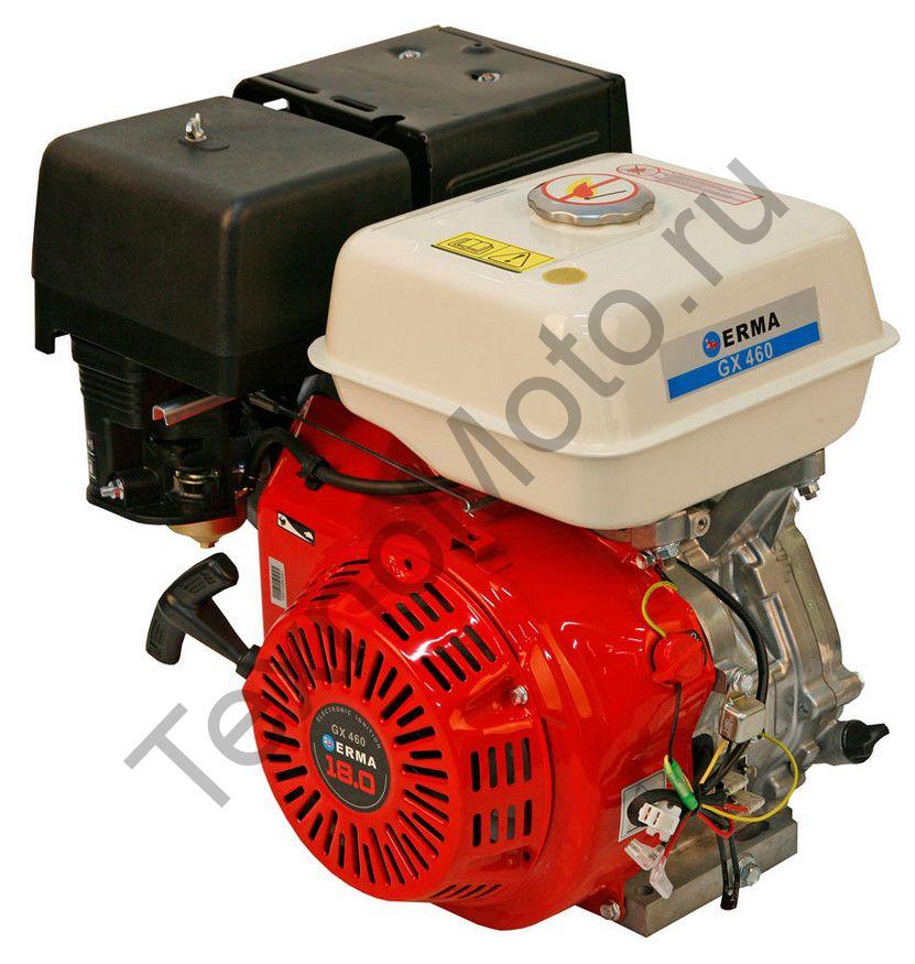 Двигатель Erma Power GX460 D25(18 л. с.) катушка освещения 120Вт