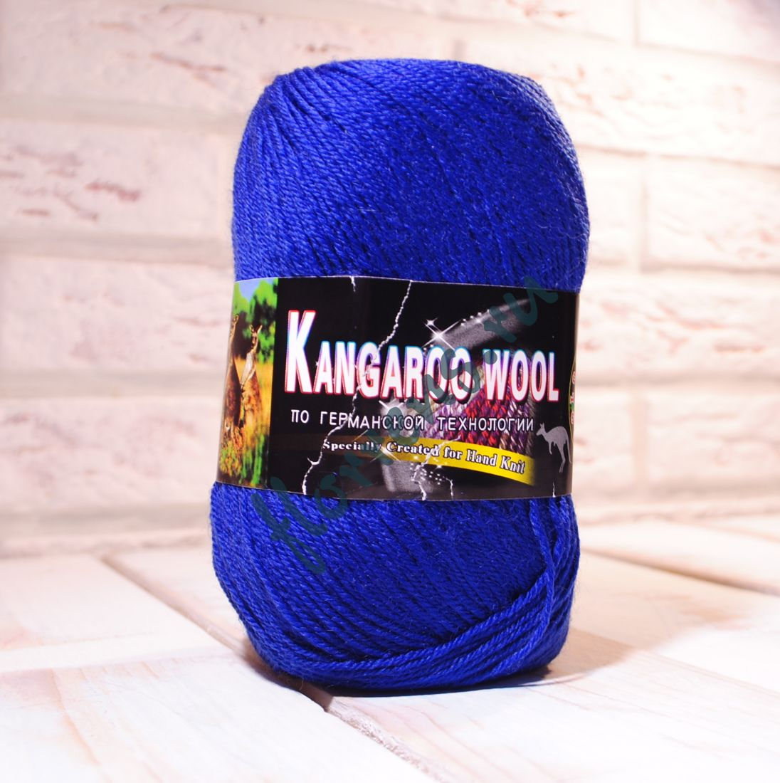 "Пряжа ""Color City"" Kangaroo wool / 2313 синий"