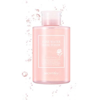 Тонер с экстрактом розы Rose water base toner 550мл