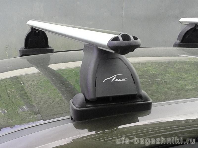 Багажник на крышу Ford C-Max, Lux, аэродинамические  дуги (53 мм)