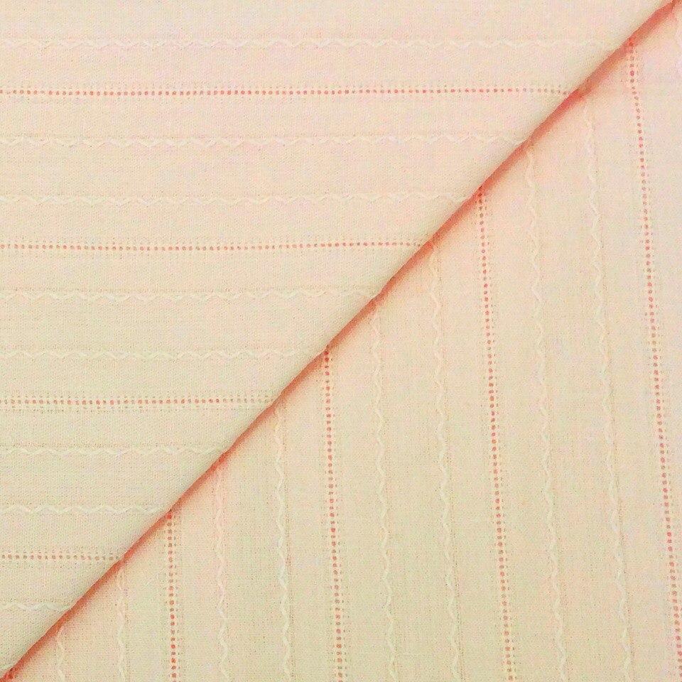 Ткань Мережка Персиковая