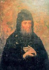 Икона Иосиф Печерский (копия 19 века)