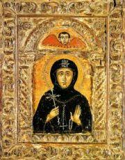 Икона Матрона Константинопольская (копия старинной)