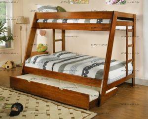 Кровать двухъярусная Дуэт 1 массив №Д