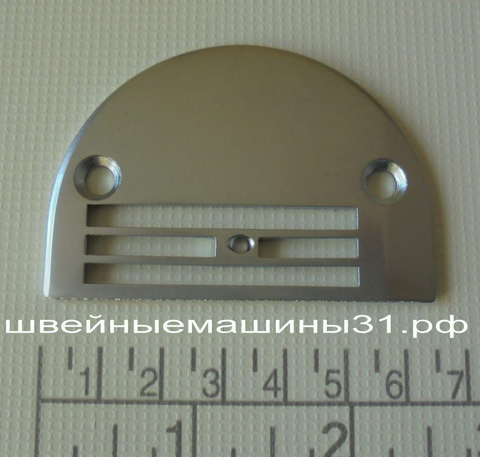 Игольная пластина для 4-х сегментной рейки для тяжелых материалов        цена 300 руб.