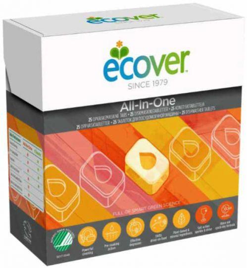 Ecover Таблетки для посудомоечной машины 3 в 1 500 г