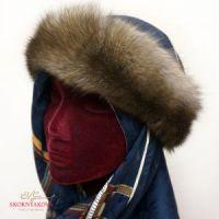 Меховая повязка на голову из соболя
