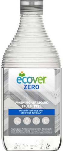 Ecover Экологическая жидкость для мытья посуды Zero 450 мл
