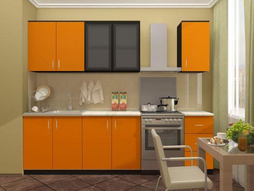 Кухня Катя 2,0 (венге/манго)