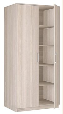 """Шкаф 2-х дверный  для одежды """"Соло"""" 20.07"""