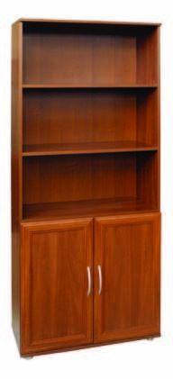 Шкаф для книг без стекла МД 2.02