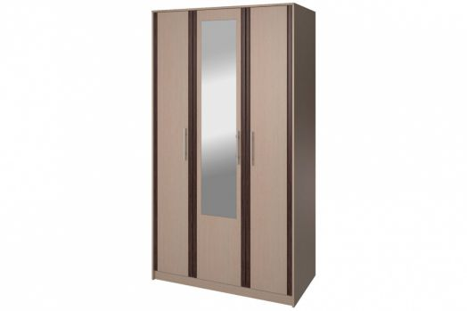 Шкаф 3-х дверный с зеркалом СТЛ.105.03 Новелла