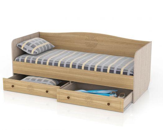 Кровать с ящиками Онега 800