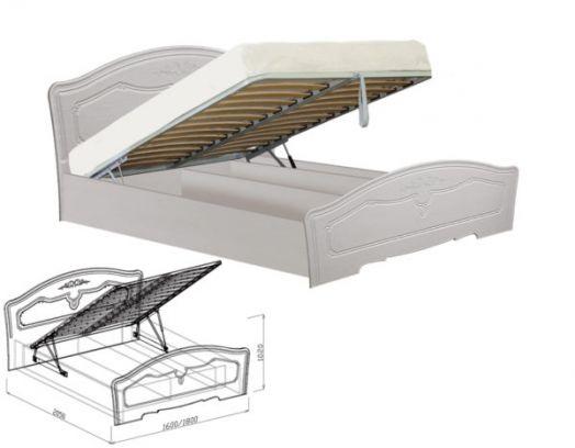 Кровать №1 Ева на 1600 с подъемным механизмом