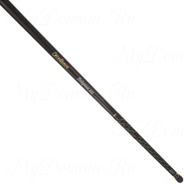 Удилище телескопическое с кольцами Mikado EXCELLENCE BOLOGNESE 600 (тест до 25 г)