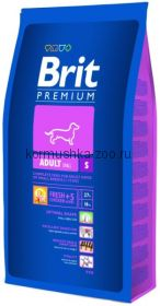 Brit Premium Adult S (Small) для собак мини пород
