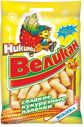 """Палочки кукурузные """"Никитка-Великан"""" 400гр*5"""